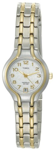 Timex Women&#8217;s T27191 Classic Casual Two-Tone Stainless Steel Bracelet Watch