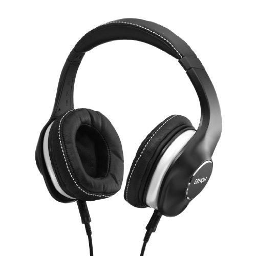 DENON AH-D600EM MUSIC MANIAC 密閉型オーバーヘッドヘッドホン ケーブル着脱式 ブラック