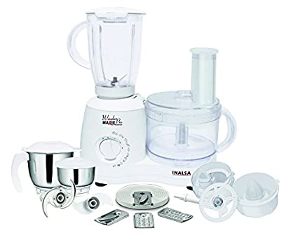 Inalsa Wonder Maxie Pro 600W Food Processor