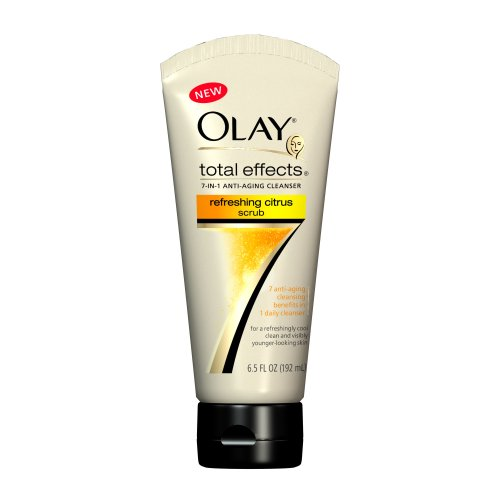 Olay Total Effects Refreshing Citrus Scrub, 6.5 Ounce (Pack of 3)
