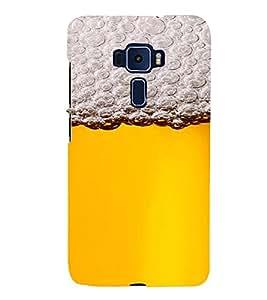 PrintVisa Beer Mug Design 3D Hard Polycarbonate Designer Back Case Cover for ASUS ZENFONE 3 ZE552KL
