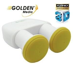 Sorties Full HD 3D 0,1dB Double tête Parabole: High tech