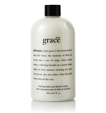 pure grace 16.0 oz foaming bath and shower cream for Women