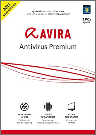 Avira AntiVirus Premium 2013 - 3 User