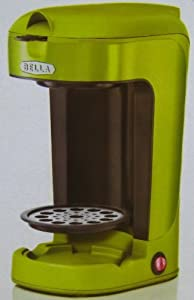 BELLA 1 Scoop 1-Cup Coffee Maker by D&H Distributing - Sensio Products