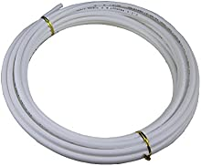 TmallTech - Manguera de polietileno de 63mm x 10m para sistema de filtro de agua osmotizada, color blanco