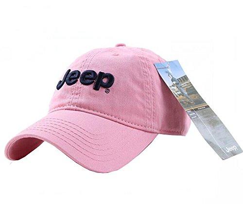 jeep-unisex-adjustable-horizon-classic-cap-pink-free-size