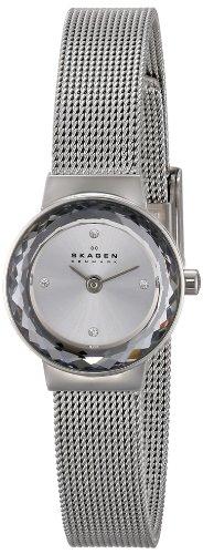 Skagen Femme SKW2184 Leonora Quartz 2 Hand Stainless Steel Silver Montre