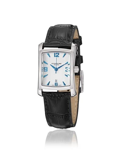 Stuhrling Women's 145AL.12152 Lady Gatsby Black/Silver Stainless Steel Watch As You See