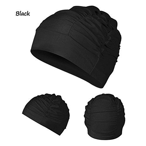 Merryshop@ Soft Drape Elastic Swimming Cap Hat for ...