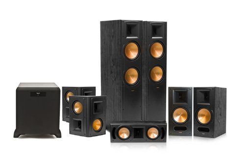 Klipsch Rf-82 Ii Reference Series 7.1 Home Theater System With Sw-450 Subwoofer (Black)