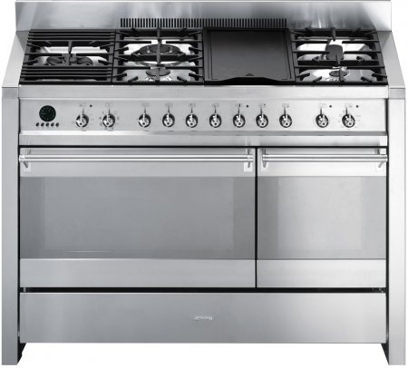 smeg-a3xu6-48-freestanding-dual-fuel-cavity-opera-range-5-gas-burners-electric-grill-in-stainless-st