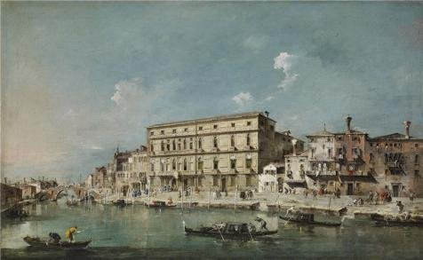 Oil Painting 'Francesco Guardi - View Of Venice, 18th Century' Printing On High Quality Polyster Canvas , 20x32 Inch / 51x83 Cm ,the Best Home Theater Decoration And Home Decor And Gifts Is This Imitations Art DecorativeCanvas Prints
