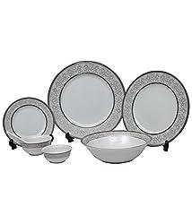 Lakline Porcelain Dinner set of 33 Pieces - HL80138