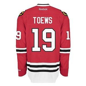 Jonathan Toews Chicago Blackhawks Reebok Premier Replica Home NHL Hockey Jersey Size S