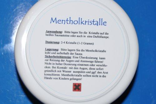 Reine Mentholkristalle - 100 g