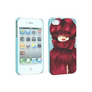 Odoyo PH391CD X Marcos Chin Collection for iPhone 4/4S Case with Screen Protector - Carrying Case - Retail Packaging - Cold