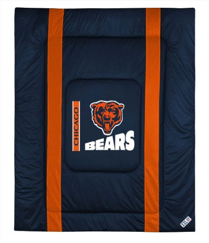 Chicago Bears Twin Comforter Bedding New Nfl Boys Football