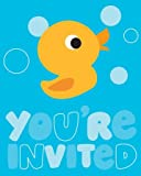 Lil' Quack Party Invitations Pack of 25