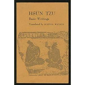 hsun tzu Köp böcker av mo-tzu: basic writings of mo tzu, hsun tzu, and han fei tzu.
