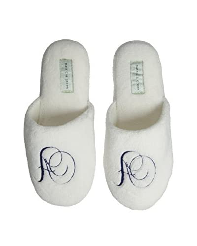 Patricia Green Women's Cozy Monogram A Slipper