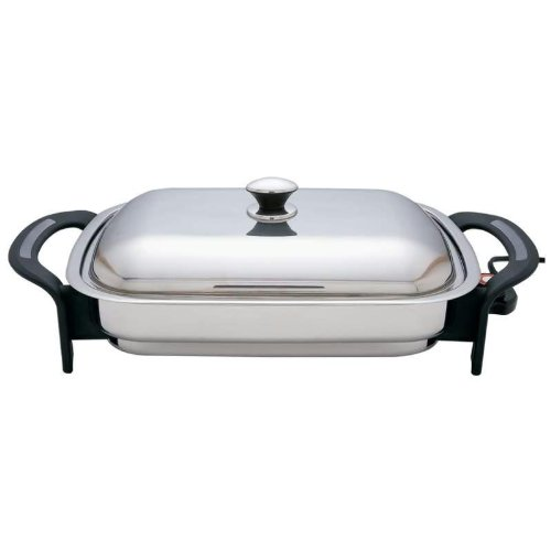 Why Choose Precise Heat 16-Inch Rectangular Surgical Stainless Steel Electric Skillet