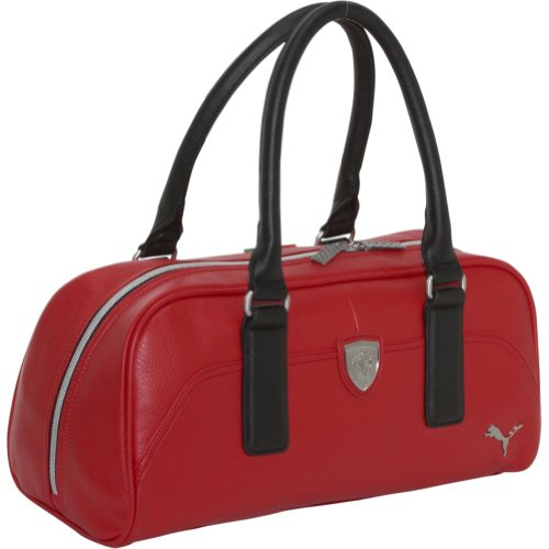 5c86827781c Puma Ferrari LS Handbag (Red)                                                                     This  handbag demands attention with its style and color.