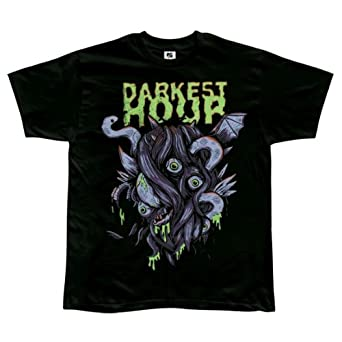 Darkest Hour - Mens Hairbangers Ball T-shirt Small Black