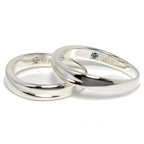 [グートドール]Goutte dor ペアリング|シルバー ブルーダイヤ/ダイヤ付 SILVER 指輪 ARS716BDM-SD