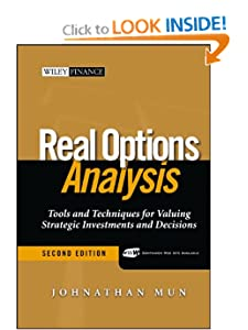 Real options analysis Johnathan Mun