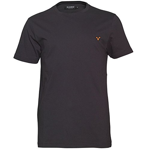 Voi Jeans Herren Hartford T-Shirt Schwarz - L To Fit Chest 38-40 Euro Large