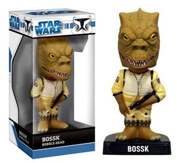 Buy Low Price Funko Bossk Bobble-head Figure (B00132H98U)