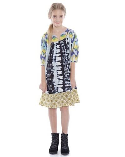 CUSTO GROWING Vestido Belle 1 Multicolor