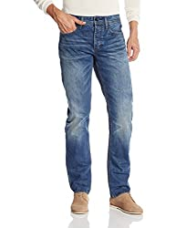 Superdry Men's Relaxed Fit Jeans (5054265624438_M70001KNF4_36W x 32L_Monty Blue Light)