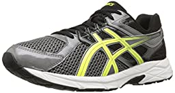 ASICS Men\'s Gel Contend 3 Running Shoe, Carbon/Flash Yellow/Black, 8.5 M US