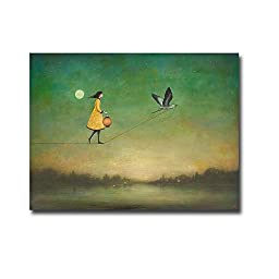 Blue Moon Expedition by Duy Huynh Premium Oversize Gallery-Wrapped Canvas Giclee Art (Ready to Hang)