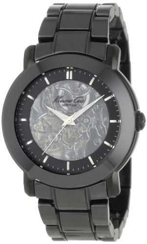 kenneth-cole-kc4725-auto-montre-femme-automatique-analogique-cadran-argent-bracelet-acier-noir