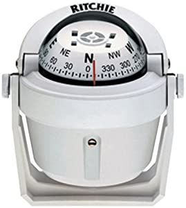 Ritchie Navigation Explorer Compass, 2 3 4-inch Dial with Braket Mount by Ritchie