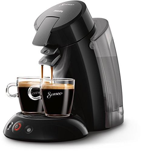 Philips Senseo Original XL - Cafetera de monodosis, color negro