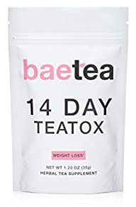 Baetea Weight Loss Tea: Detox, Body C…