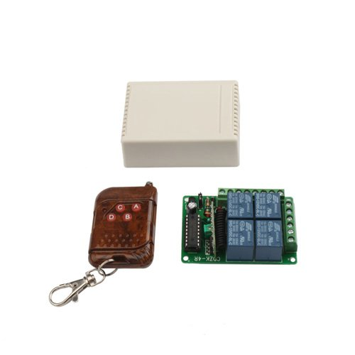 12v 10a 4 Channels Wireless Remote Control Switch(200m)