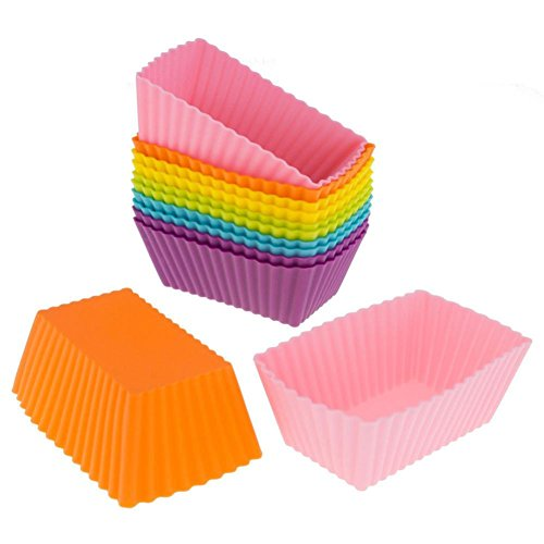 TOPUNDER 12PC Kitchen Craft Cake Cup Chocolate Liners Baking Cupcake Cases Muffin Cake