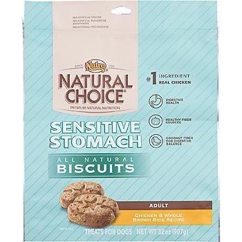 Nutro Natural Choice Sensitive Stomach All Natural Dog Biscuits 32 oz. Chicken & Brown Rice (Nutro Natural Choice Dog Treats compare prices)