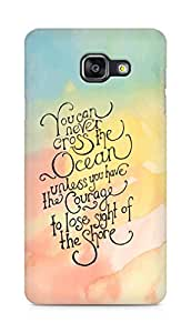 AMEZ you can never cross the Ocean Back Cover For Samsung Galaxy A5 (2016 EDITION)