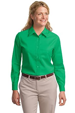 Port Authority Ladies Long Sleeve Easy Care Shirt, S ...