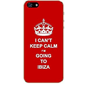 Skin4gadgets I CAN'T KEEP CALM I'm GOING TO IBIZA - Colour - Red Phone Skin for APPLE IPHONE 5S