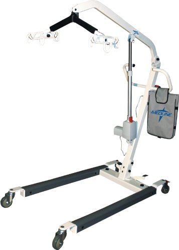Electric Patient Lifts, Lift,Patient,Electric,400Lb Capacity - 1 Ea
