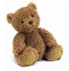 "Pudge Brown Bear 11"" by Jellycat"