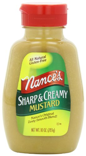 Nance's Mustard Sharp & Creamy, 10-Ounces