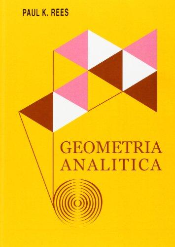 Geometría Analítica (Spanish Edition)